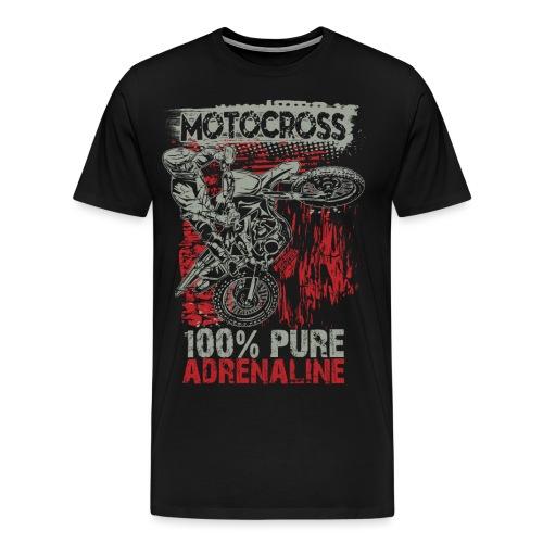 Motocross Pure Adrenaline - Men's Premium T-Shirt