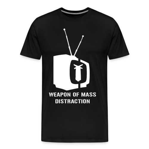 weapon of mass distraction - Men's Premium T-Shirt