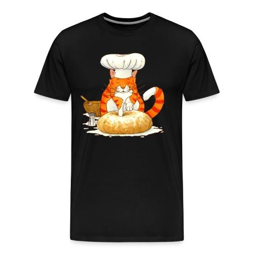 Chef Cat by Rachael B - Men's Premium T-Shirt