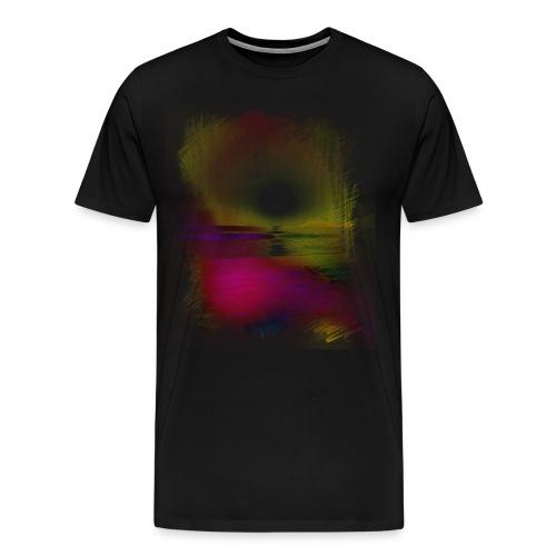 Sunset Pencil Colour - Men's Premium T-Shirt