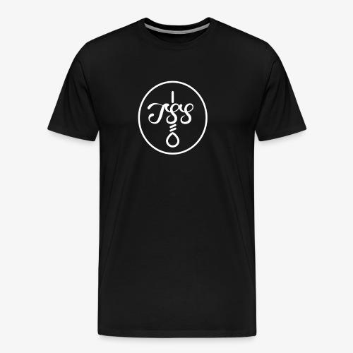 T S S + Hangmans Noose Patch - (White) - Men's Premium T-Shirt