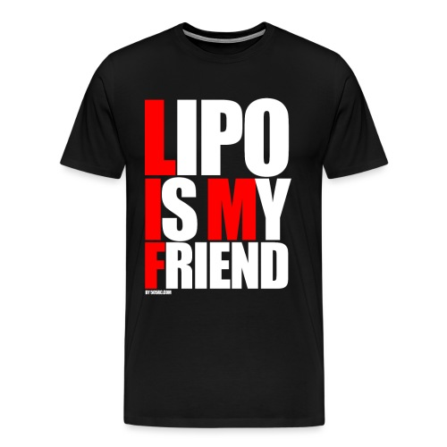 Lipo is my friend shirt png - Men's Premium T-Shirt
