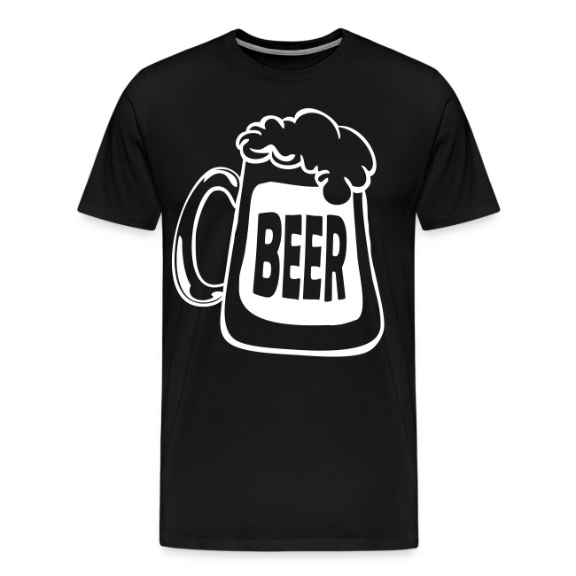Beer Mug Custom Text T-shirt