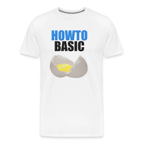 howtobasic2 - Men's Premium T-Shirt