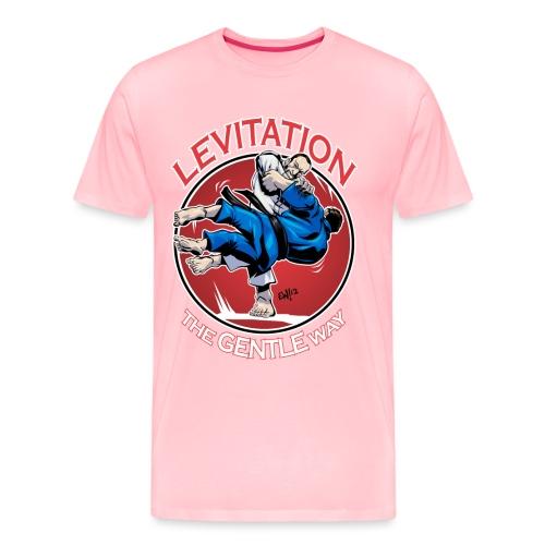 Judo Levitation for dark shirt - Men's Premium T-Shirt