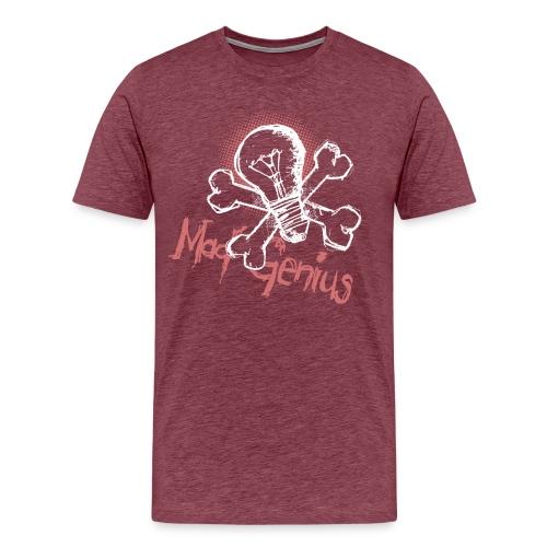 Mad Genius - On Dark - Men's Premium T-Shirt
