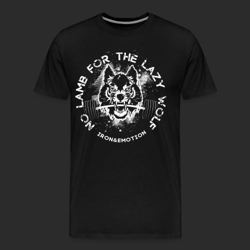 IRON EMOTION s IRON WOLF - Men's Premium T-Shirt