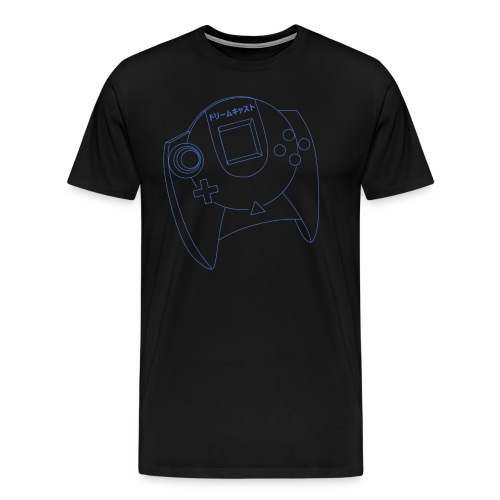 Dreamcast Controller Blueprints - Men's Premium T-Shirt