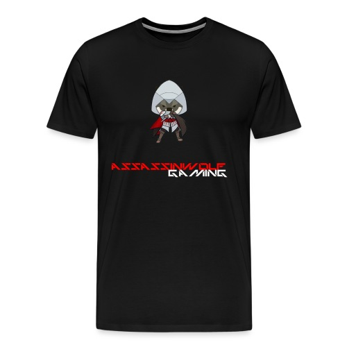 heather gray assassinwolf Tee - Men's Premium T-Shirt