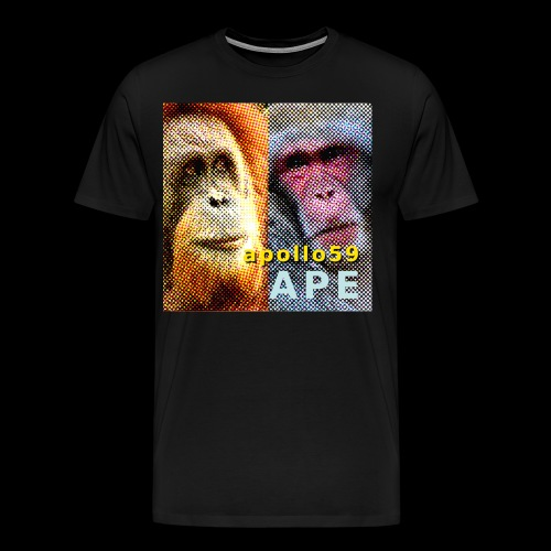 APE - Apollo59 Cover Art - Men's Premium T-Shirt