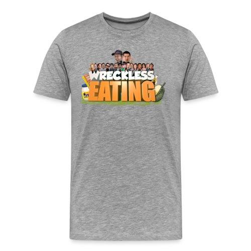Wreckless Eating Cast Shirt 2015 png - Men's Premium T-Shirt