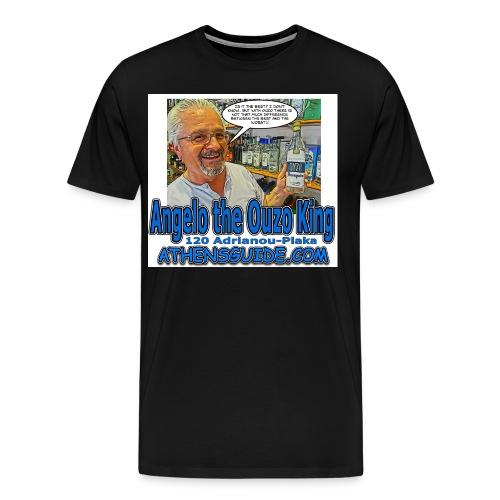 Angelo Ouzo White jpg - Men's Premium T-Shirt