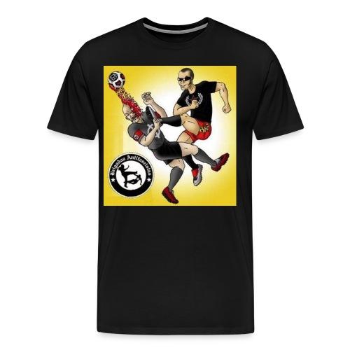 hooligans antifa - Men's Premium T-Shirt