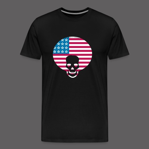 logo flag - Men's Premium T-Shirt