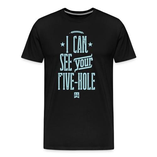 FIVE HOLE - Men's Premium T-Shirt