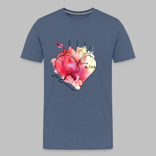 Black Text - Men's Premium T-Shirt