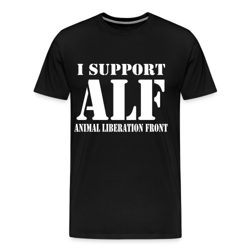support alf - Men's Premium T-Shirt