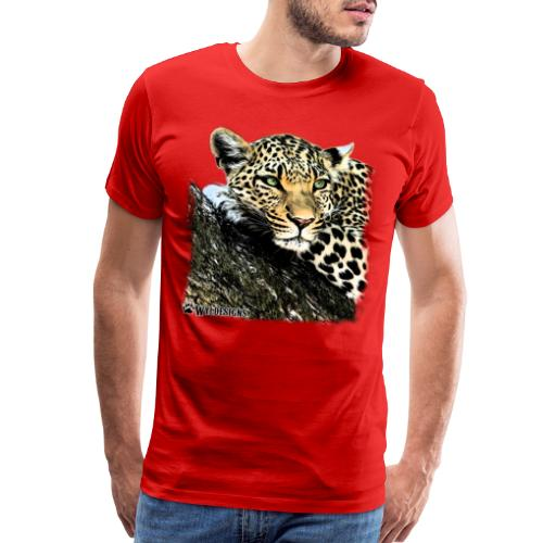 Leopard Cutout - Men's Premium T-Shirt