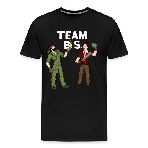 teambs-caglee-white - Men's Premium T-Shirt
