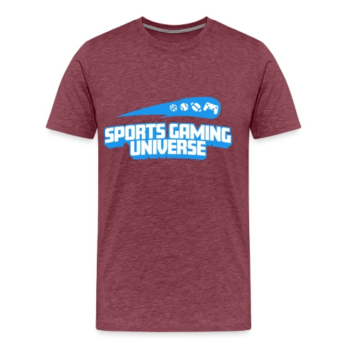 SGU Logo 18 T Shirt Blue - Men's Premium T-Shirt