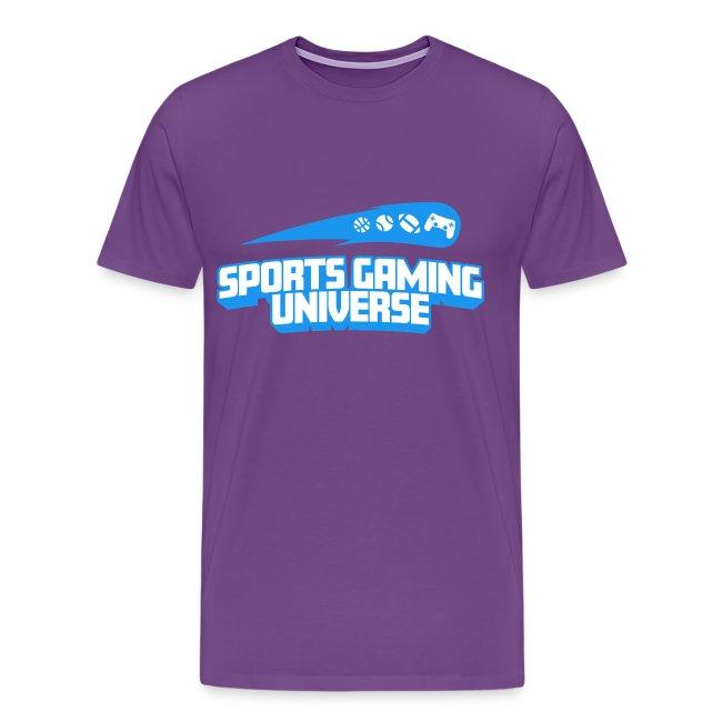 SGU Logo 18 T Shirt Blue