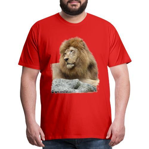 Lion Cutout - Men's Premium T-Shirt