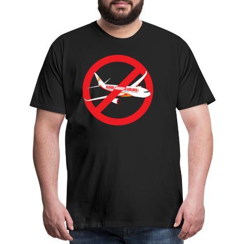 Flight shame - Flygskam - Men's Premium T-Shirt