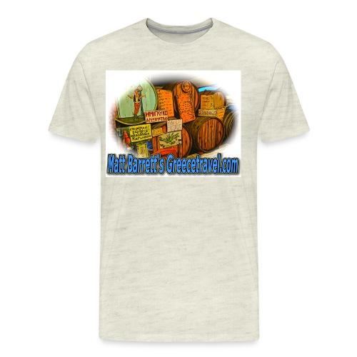 Greecetravel Kava jpg - Men's Premium T-Shirt