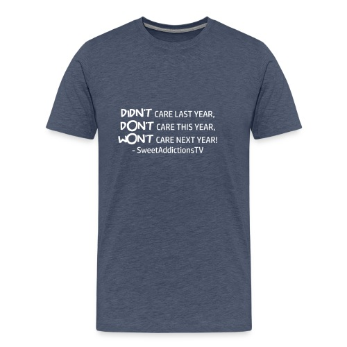 quote2 W png - Men's Premium T-Shirt
