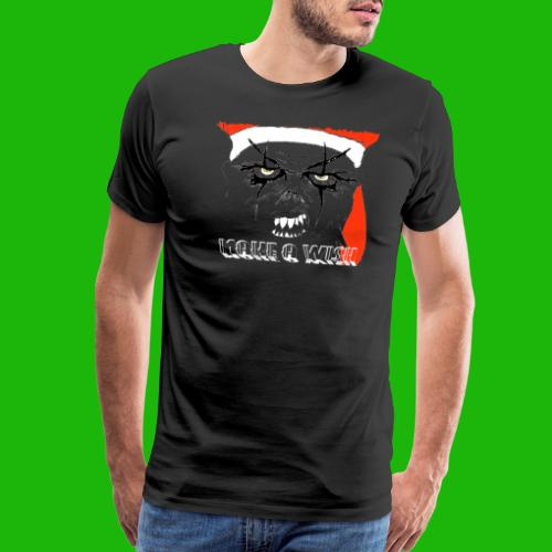 santa make a wish - Men's Premium T-Shirt