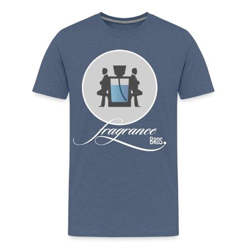 Logo large 01 Icon Text 2100x2286 1 png - Men's Premium T-Shirt