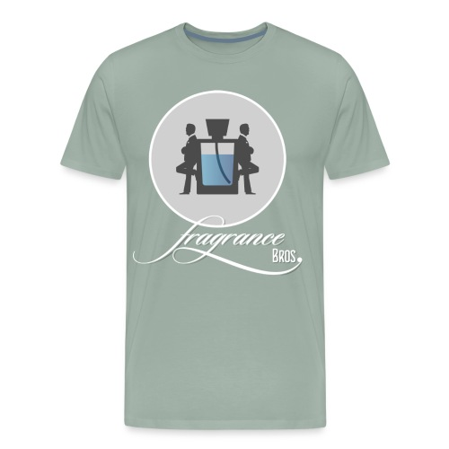 Logo large 01 Icon Text 2100x2286 1 png - Men's Premium T-Shirt