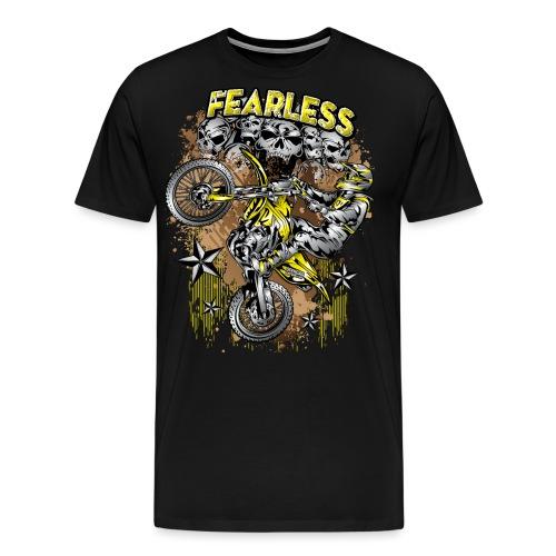 Fearless Motocross Suzuki - Men's Premium T-Shirt