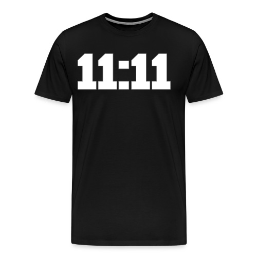 TIME AND PLACE 11:11 MAKE A WISH - Men's Premium T-Shirt