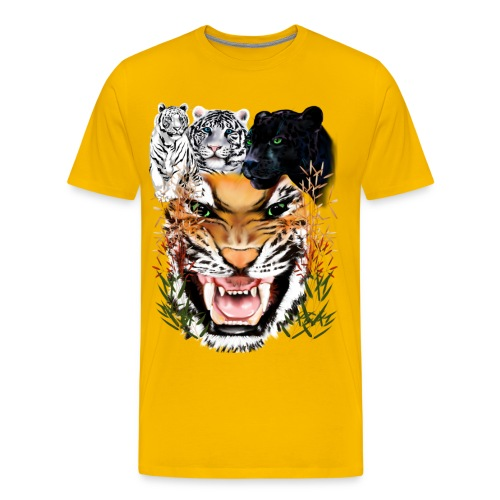 Big Cats - Men's Premium T-Shirt