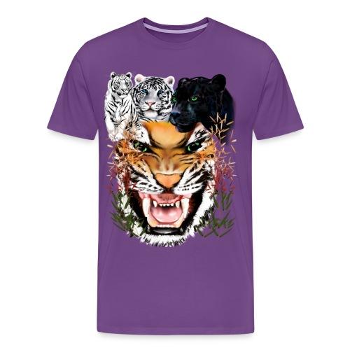 Big Cats - Men's Premium T-Shirt