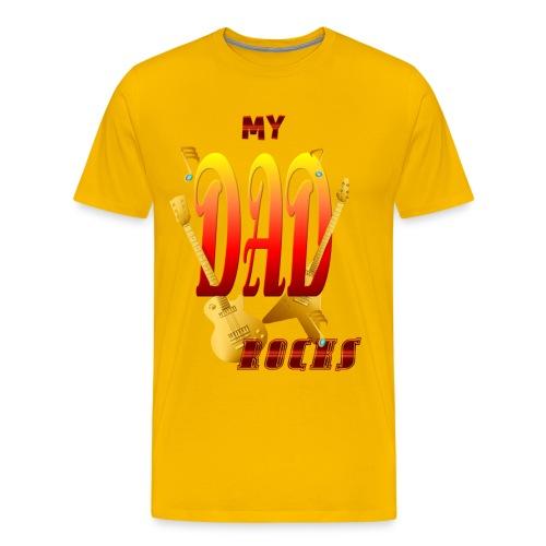 My Dad Rocks! - Men's Premium T-Shirt