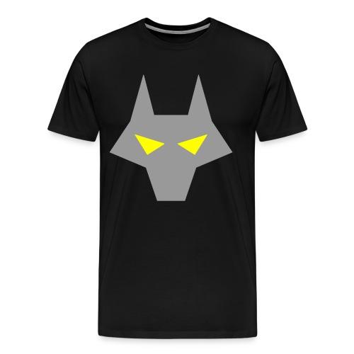 twolf4 png - Men's Premium T-Shirt