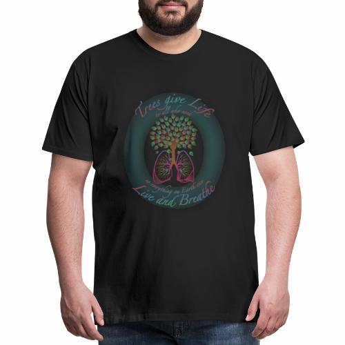 Live and Breathe - Men's Premium T-Shirt