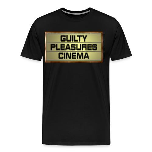 GPC Logo - Black Zip-Up Hoodie - Men's Premium T-Shirt