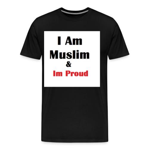 I Am Muslim - Men's Premium T-Shirt