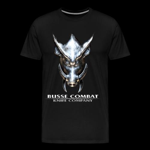 Busse Combat Light Text - Men's Premium T-Shirt