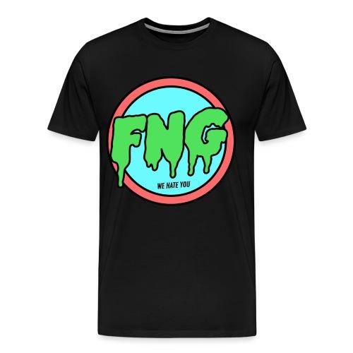 FNG Logo png - Men's Premium T-Shirt