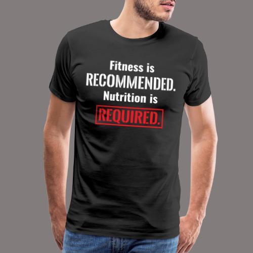 Mens_Nutrition - Men's Premium T-Shirt