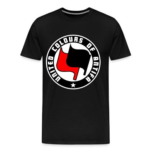 united colours of antifa - Men's Premium T-Shirt
