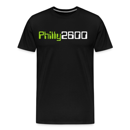 philly2600 png - Men's Premium T-Shirt