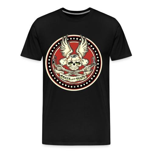 Brush With Death - Men's Premium T-Shirt