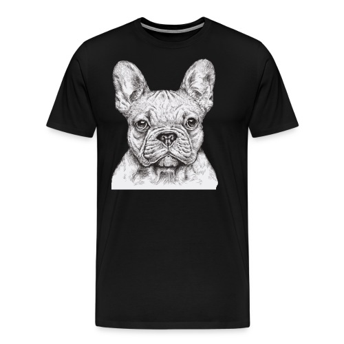 French Bulldog - Men's Premium T-Shirt