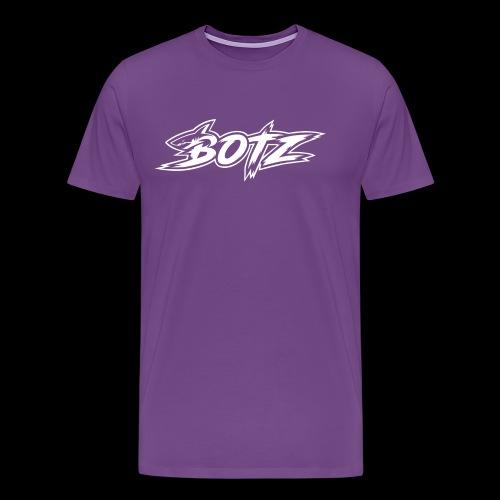 BOTZ White Logo - Men's Premium T-Shirt