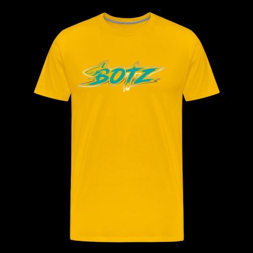 BOTZ Teal Logo - Men's Premium T-Shirt